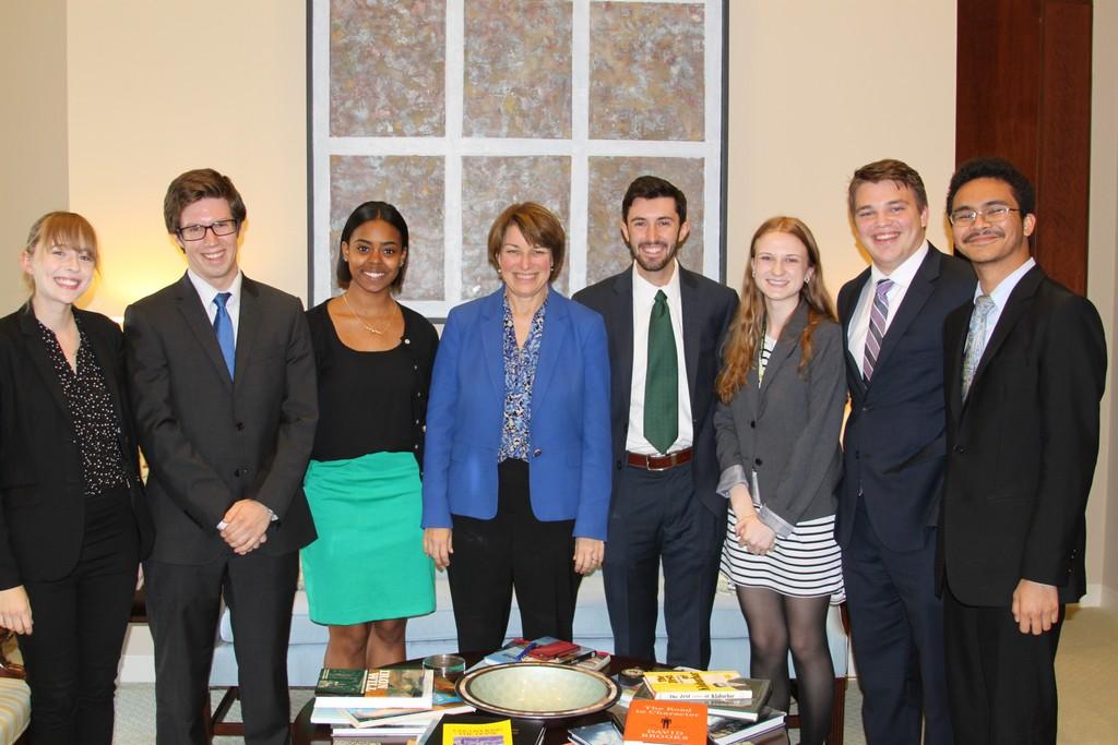 Internships - U S  Senator Amy Klobuchar